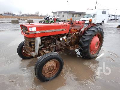 1966 MASSEY FERGUSON 135 Antique Tractor