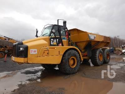 2015 CATERPILLAR 740B 6x6 Articulated Dump Truck