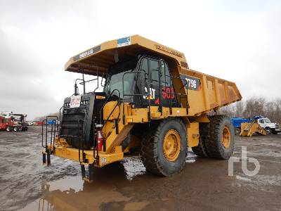 2015 CATERPILLAR 775G Rock Truck
