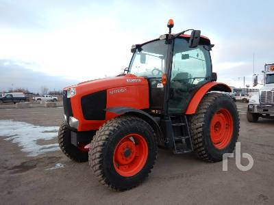 2014 KUBOTA M110X MFWD Tractor