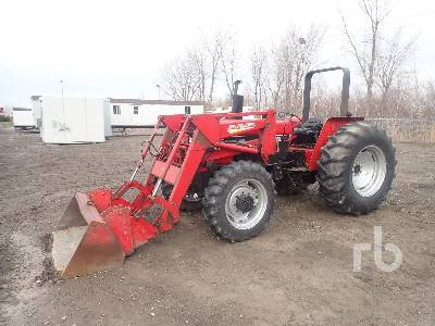 1988 CASE IH 585 Utility Tractor