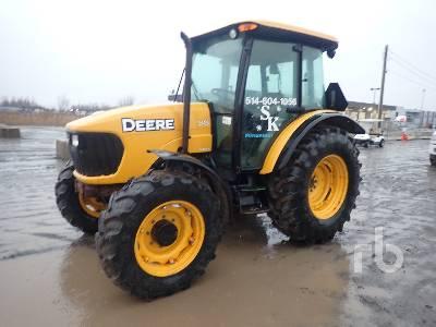 2005 JOHN DEERE 5525 MFWD Tractor