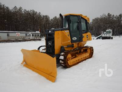 2013 JOHN DEERE 550K Hystat Crawler Tractor