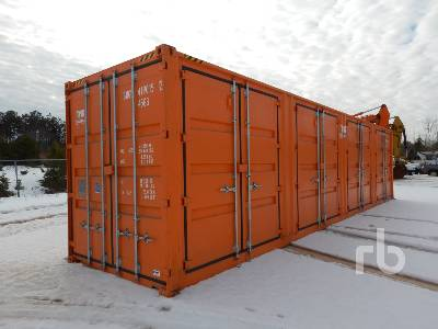 40 Ft Full Side Open Door Container