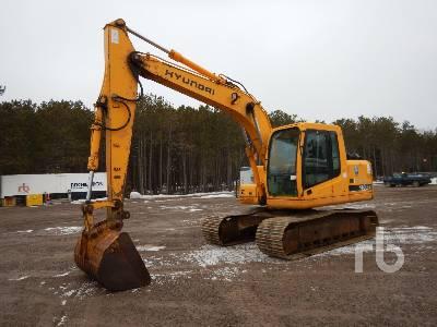 2003 HYUNDAI ROBEX 140LC-7 Hydraulic Excavator