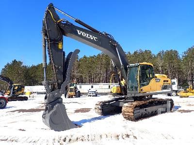 2014 VOLVO EC300DL Hydraulic Excavator