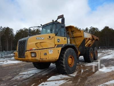 2010 JOHN DEERE 350D LL 6x6 Articulated Dump Truck