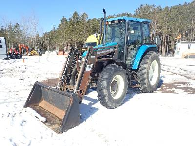 1998 NEW HOLLAND TS100 MFWD Tractor