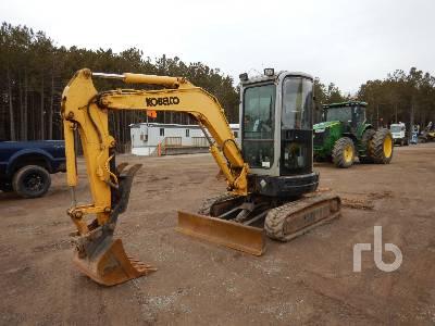 2008 KOBELCO SK35SR-3 Mini Excavator (1 - 4.9 Tons)
