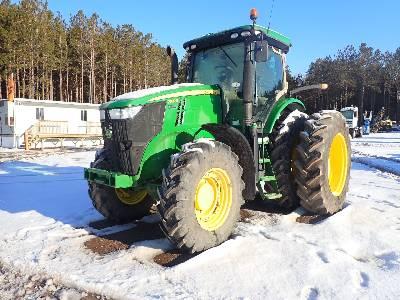 2012 JOHN DEERE 7200R MFWD Tractor