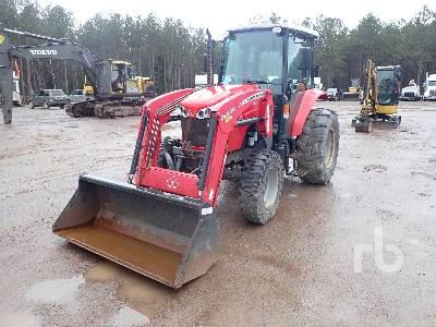 2013 MASSEY FERGUSON 4608 4x4 MFWD Tractor