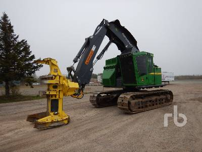 2017 JOHN DEERE 803M Crawler Feller Buncher