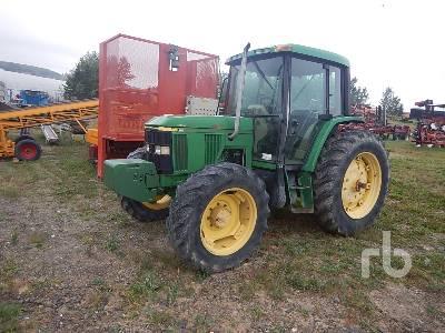 1996 JOHN DEERE 6410 MFWD Tractor