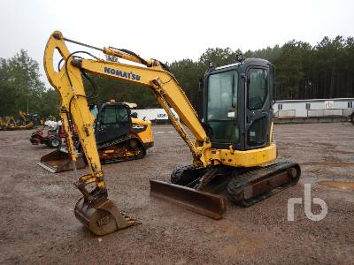 2009 KOMATSU PC35MR-3 Mini Excavator (1 - 4.9 Tons)