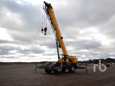 2009 GROVE RT880E 80 Ton 4x4 Rough Terrain Crane