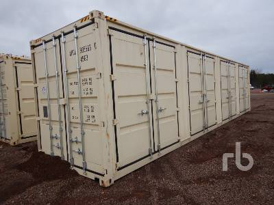 SUIHE 40 Ft High Cube Four Multi Doors Container