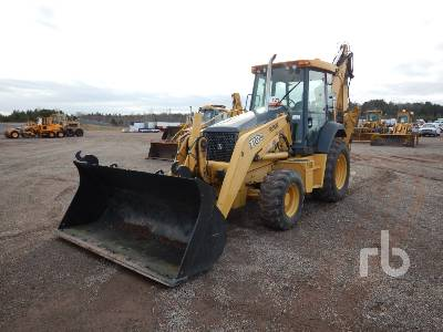 2007 JOHN DEERE 710G 4x4 Loader Backhoe
