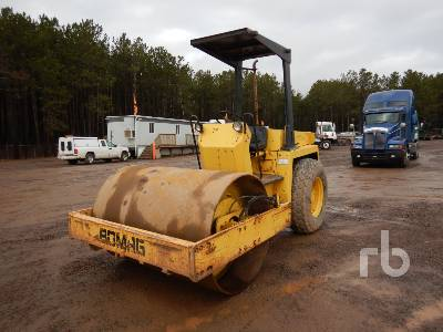 1989 BOMAG BW172D Vibratory Padfoot Compactor