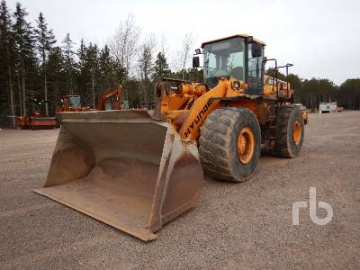 2004 HYUNDAI HL770-7 Wheel Loader