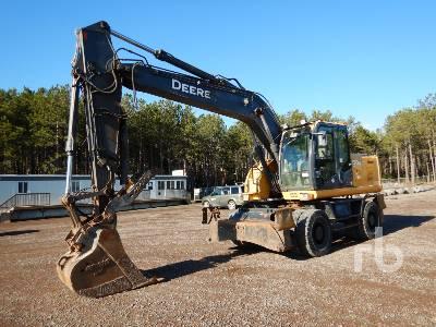 2010 JOHN DEERE 190D 4x4 Mobile Excavator