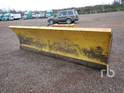 Q/C 12 Ft Snow Blade Loader Backhoe Attachment - Other
