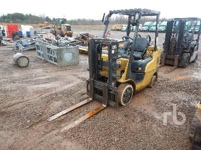 2014 CATERPILLAR 2C5000 5000 Lb Forklift
