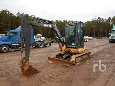 2008 JOHN DEERE 35D Mini Excavator (1 - 4.9 Tons)