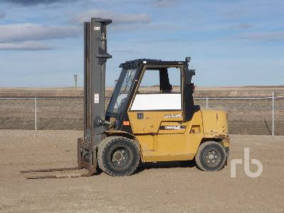 2004 CATERPILLAR DP45K 10000 Lb Forklift