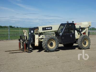 2007 INGERSOLL-RAND VR-1044C 10000 Lb 4x4x4 Telescopic Forklift