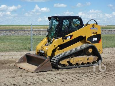 2012 CATERPILLAR 279C 2 Spd Multi Terrain Loader