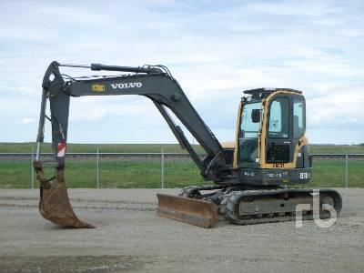 2008 VOLVO ECR88 Midi Excavator (5 - 9.9 Tons)