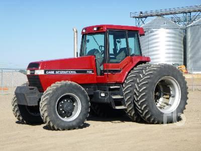 1992 CASE IH 7130 Magnum MFWD Tractor
