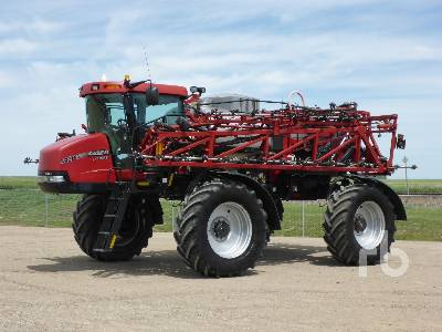 2009 CASE IH PATRIOT 4420 120 Ft High Clearance Sprayer