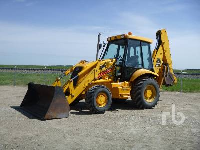 2002 JCB 214S Series 3 4x4 Loader Backhoe