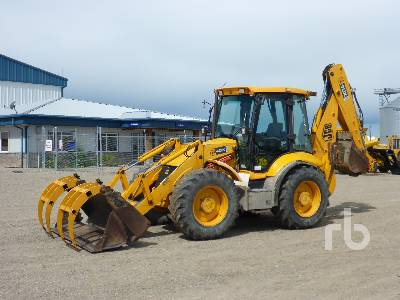 2007 JCB 4CX 14FT 4x4x4 Loader Backhoe