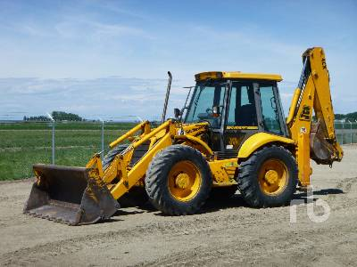 1994 JCB 4CX4 4x4x4 Loader Backhoe