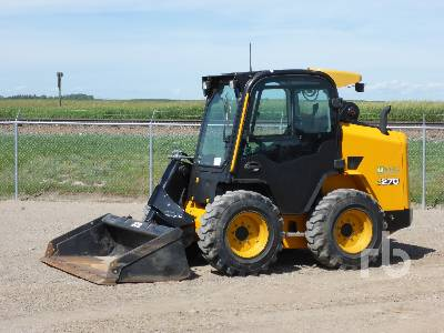 2018 JCB 270 T4 2 Spd Skid Steer Loader