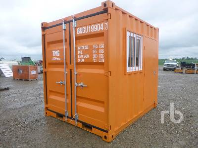 TMG INDUSTRIAL 9 Ft Steel Container