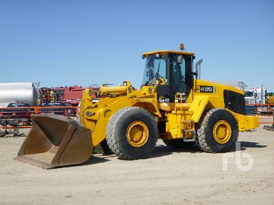 2004 JCB 456ZX Wheel Loader
