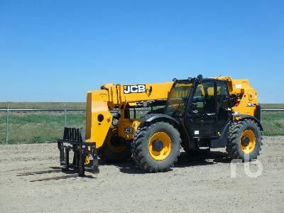 2014 JCB 509.42 9000 Lb 4x4x4 Telescopic Forklift