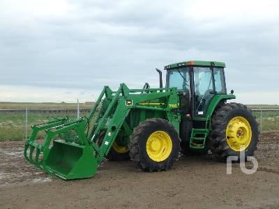 1999 JOHN DEERE 7710 MFWD Tractor