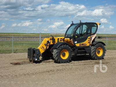 2013 DIECI AGRI TECH 35.7 VS 7700 Lb 4x4x4 Telescopic Forklift