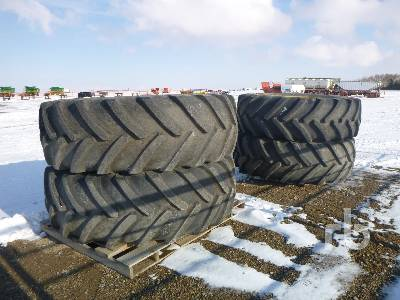MICHELIN Qty Of 4 520/70R46 Tire