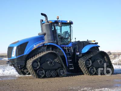 2015 NEW HOLLAND T9.600HD SmarTrax II Track Tractor