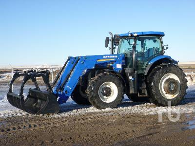 2013 NEW HOLLAND T7.185 MFWD Tractor
