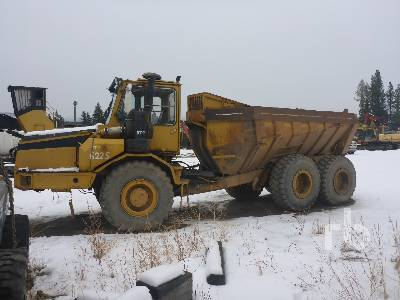 1987 MOXY 6225S Parts Only 6x6 Articulated Dump Truck