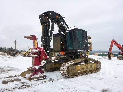 2015 CATERPILLAR 522B Crawler Tilter Feller Buncher