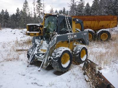 2010 JOHN DEERE 332D Parts Only Skid Steer Loader Parts/Stationary Construction-Other