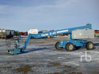2001 GENIE S-45 4x4 Boom Lift