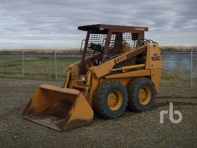 1989 CASE 1835C Skid Steer Loader